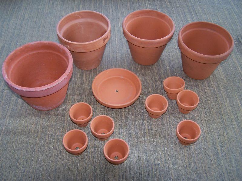 Personnages en pots de terre cuite - Comment faire des personnages en pots de terre cuite ...